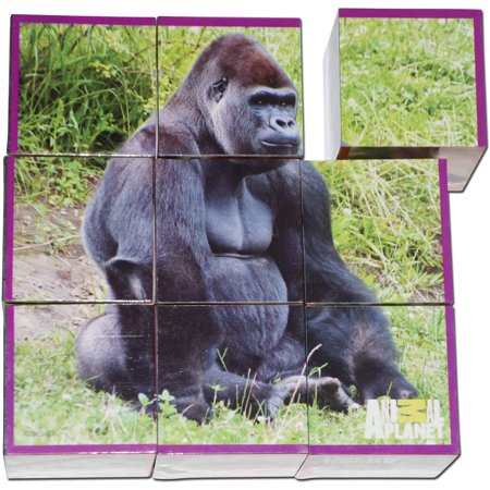 Smart Play Animal Planet Puzzle Cubes  Animal Babies