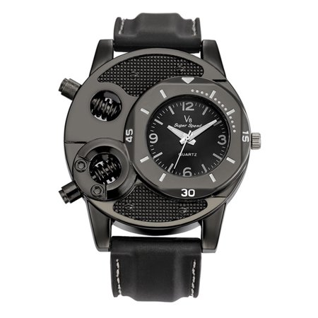 Christmas Clearance Men Adjustable Silicone Strap Wristwatches Male Boy Sports Quartz Classic Watches Student Wrist Clock