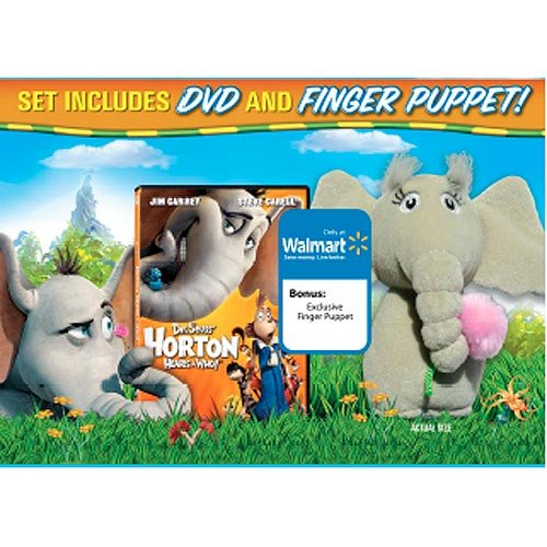 Horton Hears A Who! (with Finger Puppet) (Exclusive) (Full Frame, Widescreen)