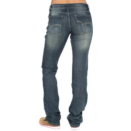 Wrangler Apparel Womens  Straight Leg Jeans