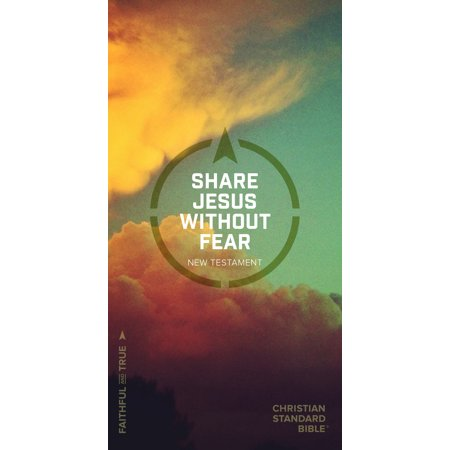CSB Share Jesus Without Fear New Testament,