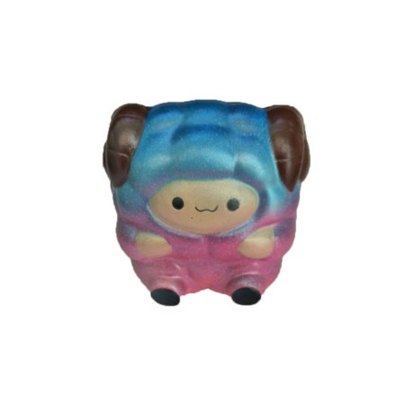 Jumbo Sheep Squishy Galaxy Rainbow Alpaca Soft Slow Rising Scented Kids Toy Gift (Rainbow Kids Toys)