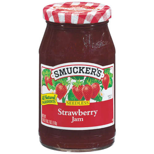 Smucker's Strawberry Seedless Jam, 18 oz