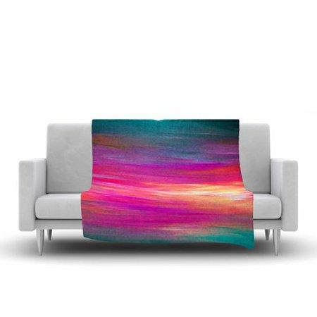 East Urban Home Ebi Emporium Bright Horizons 2 Painting Fleece Throw