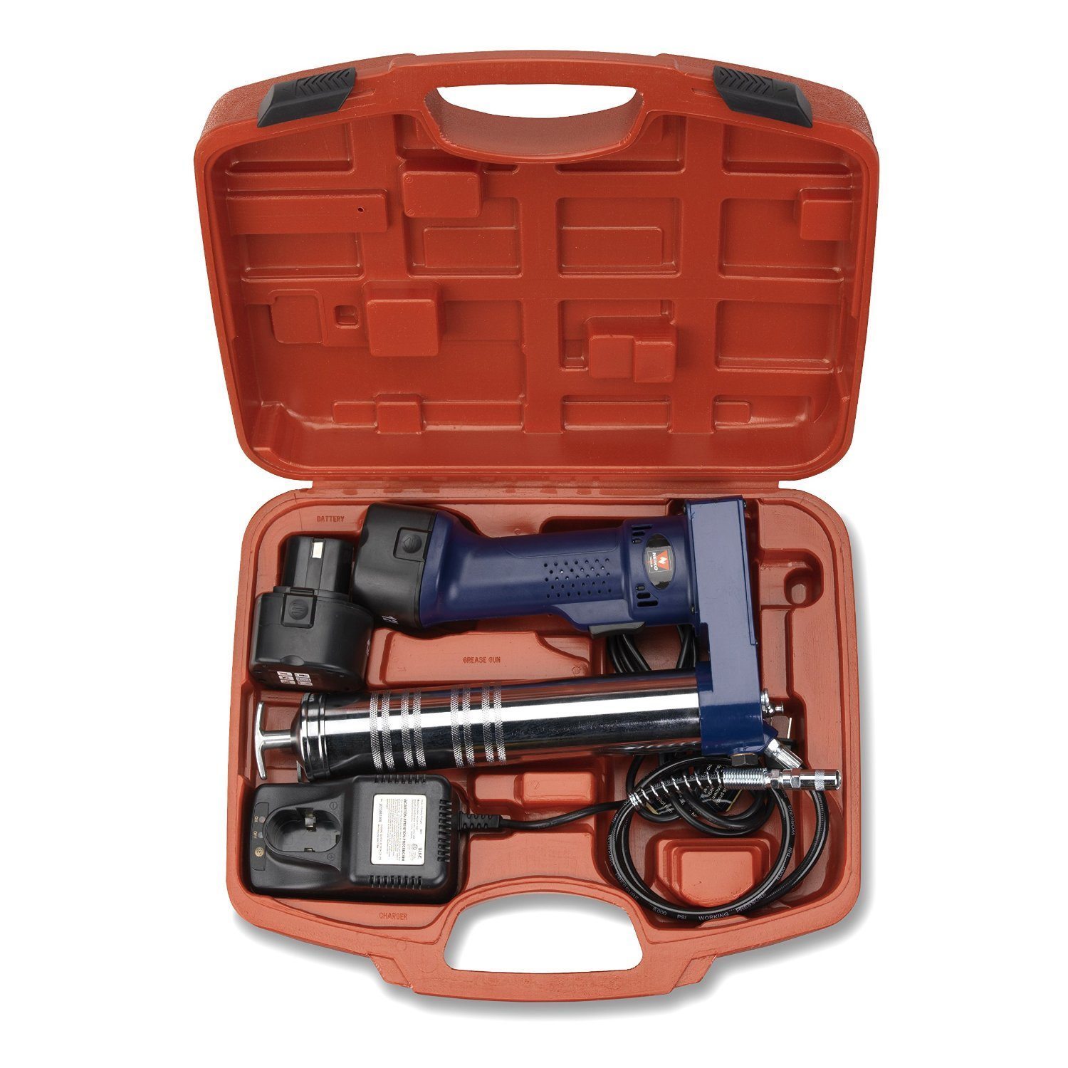 Neiko 12000A 12V 6500 PSI Cordless Grease Gun| Batteries Included