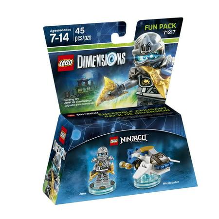 LEGO Dimensions Zane (LEGO Ninjago) Fun Pack