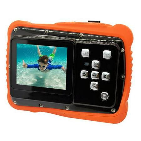Kids Digital Waterproof Camera, 5MP 3 Meters Waterproof 720P 12 MP Dust Resistant Childrens Camera for Kids Toy Gift