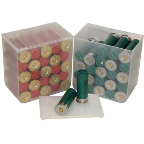 MTM Shell Stack 25 Rd. Compact Shotshell Storage Boxes