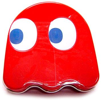 Pac Man Blinky Ghost Sours Candy Tin [Red] - Pac Man Party Supplies