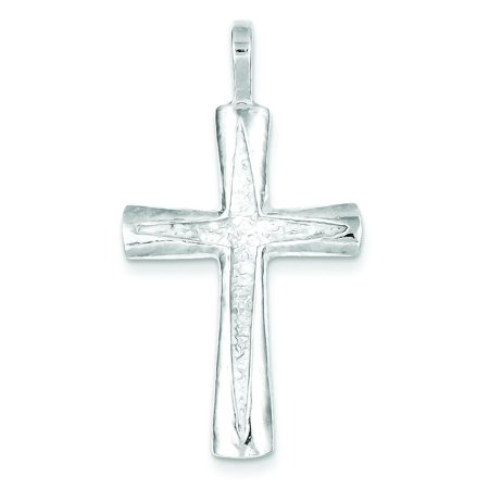 Sterling Silver Cross Charm Religious Jewelry