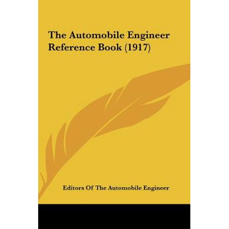 Automobile Engineer (The Automobile Engineer Reference Book)