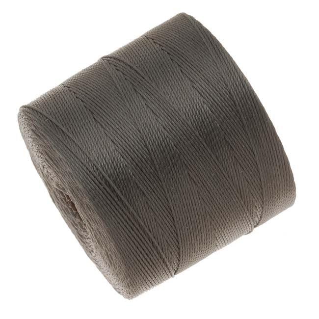 BeadSmith Super-Lon (S-Lon) Micro Macrame Twisted Nylon Cord - Cocoa Brown / 287 Yard Spool