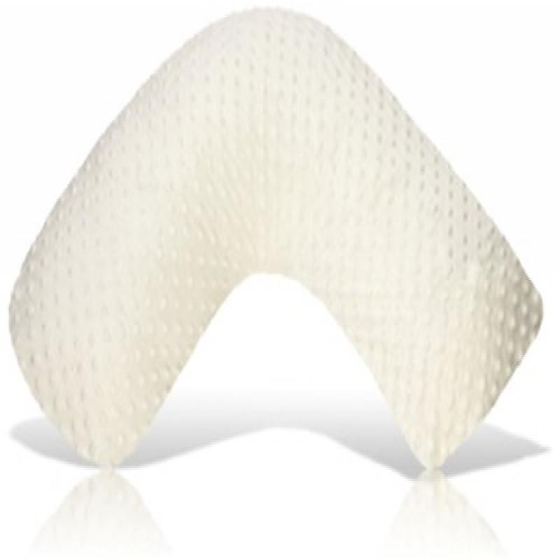Luna Lullaby Bosom Baby Nursing Pillow, Ivory Dot by Luna Lullaby