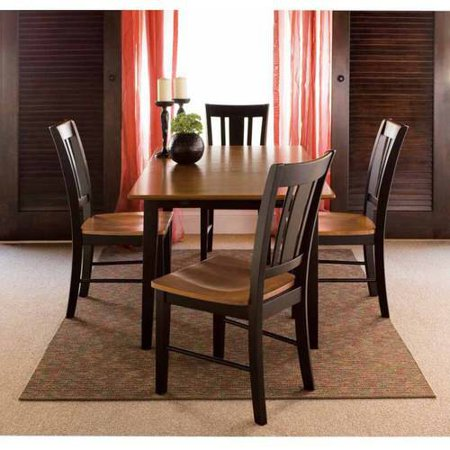 32 x 48 dining table with 4 san remo chairs