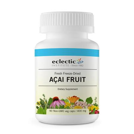 - Acai Fruit Freeze-Dried Eclectic Institute 90 Caps