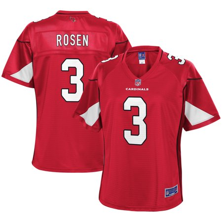 Women s Arizona Cardinals Josh Rosen NFL Pro Line Cardinal Player Jersey-4XL 1dffa4290