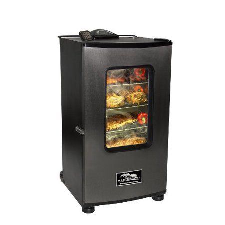 Masterbuilt Mast20070411b Masterbuilt 30 Inch Top Controller Electric Smoker With Window And Rf Controller