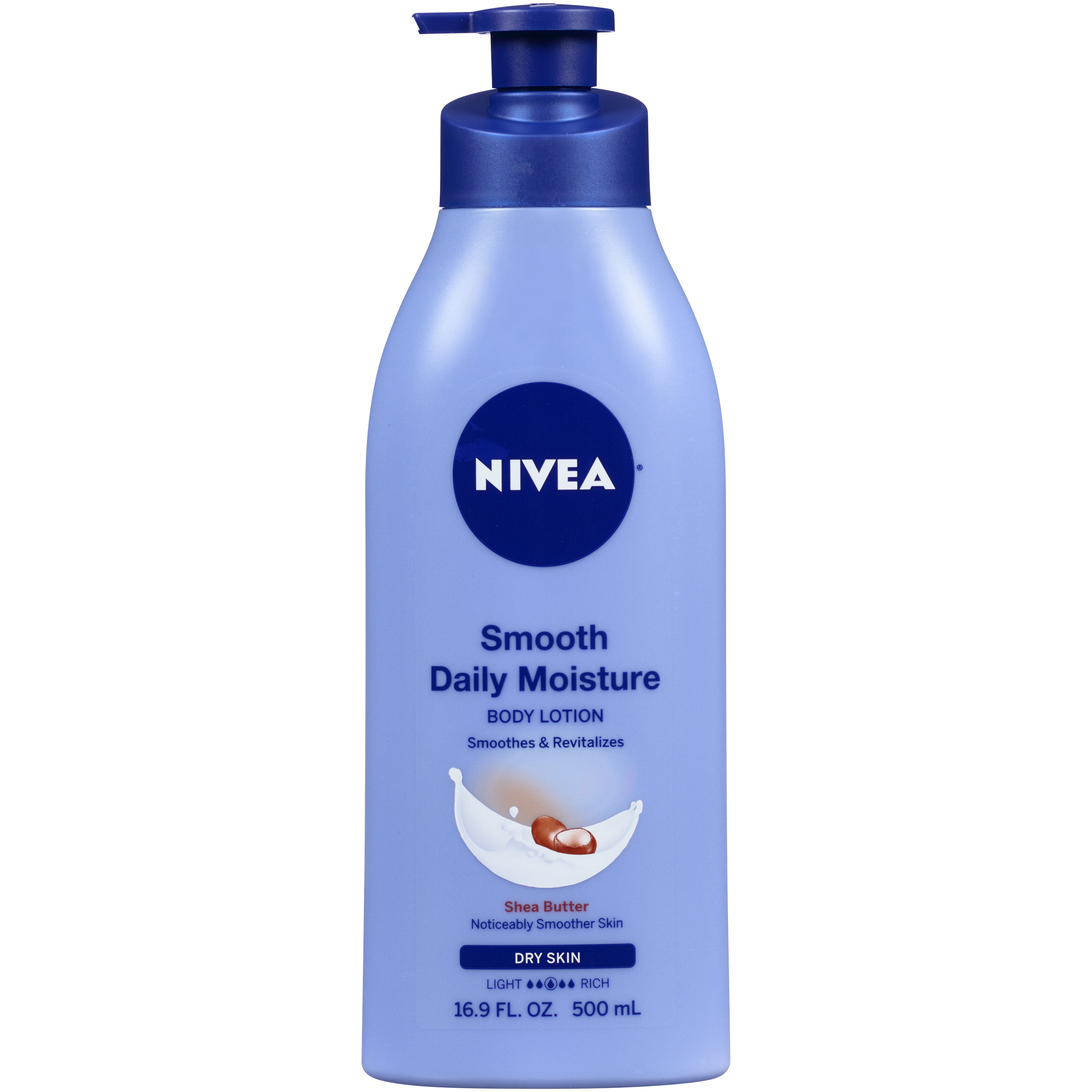 NIVEA Smooth Daily Moisture Body Lotion 16.9 fl. oz. - Walmart.com