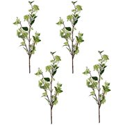 A&B Home Set of 4 Faux Fruit Spray Branch, Green 8x4x39.5 H