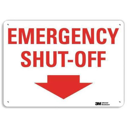 LYLE U7-1141-RA_10X7 Safety Sign,Reflective Alum,7inHx10inW G1813981