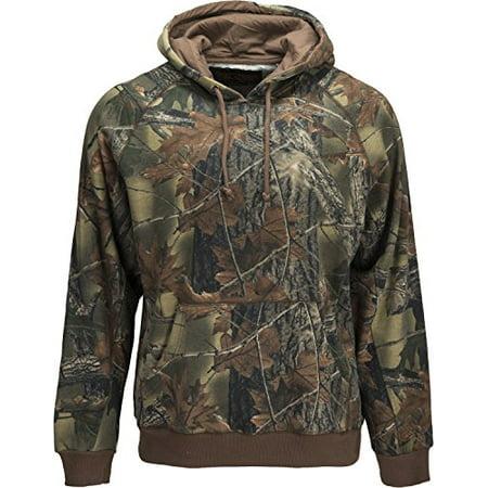 Helly Hansen Mens Ice (Trail Crest Mens Camo Hoodie Outdoors Sweatshirt Hunting Jacket W/ Camo Can Cooler, Medium,)