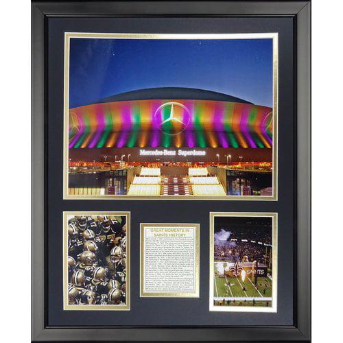 Legends Never Die NFL New Orleans Saints - The Superdome Framed Memorabili