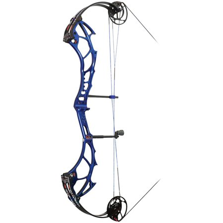 "PSE Supra Compound Bow EXT DM Right Hand Blue 29"" 50lbs Bow Hunting Archery"