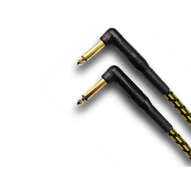 Sunburst Gear ASSY_SBCBL_1/4TSRA_1/4TSRA_20 20 Ft 1/4 in. Angled-1/4 in. Angled Audio Cable