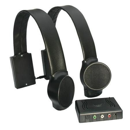 Audio Fox Wireless TV Speakers (Black)