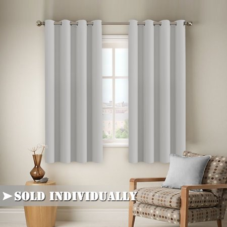 Flamingop Window Treatment Energy Saving Thermal Insulated Solid