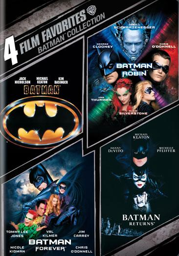 4 Film Favorites: Batman: The Motion Picture Anthology 1989-1997 (Other) by WARNER HOME VIDEO