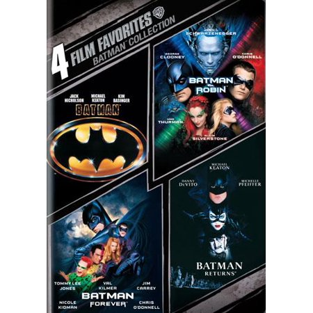 4 Film Favorites: Batman: The Motion Picture Anthology 1989-1997 (Other)