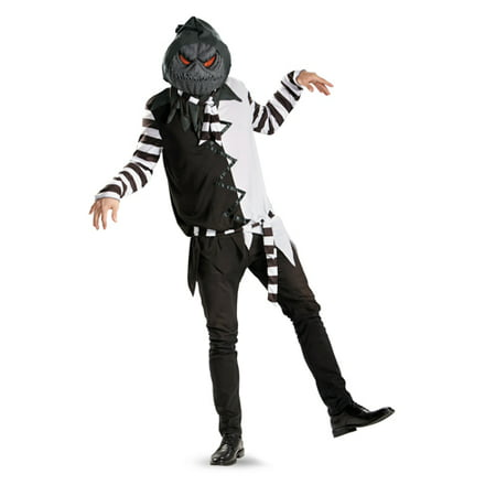 Mens Creepy Jack-O-Lantern Scary Halloween Costume (Scary Mens Costumes)