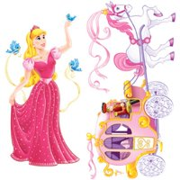 Beistle - 52064 - Princess and Carriage Props- Pack of 12