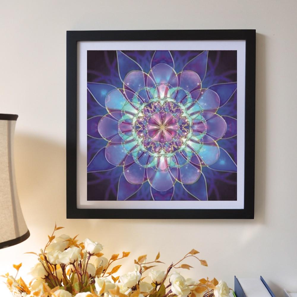 iLH Mallroom 5D Embroidery Paintings Rhinestone Pasted DIY Diamond Painting Cross Stitch