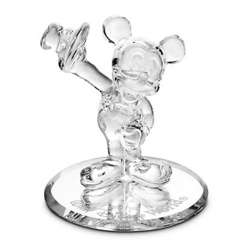 Disney Parks Mickey Mouse Tuxedo Glass Figurine by Arriba...