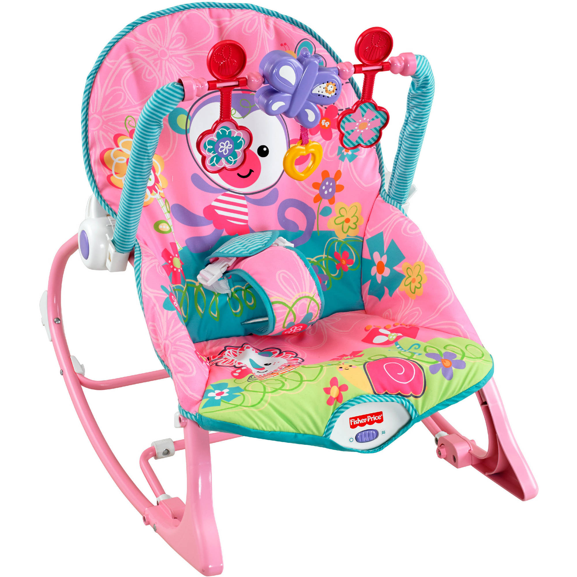 Fisher-Price Girls' Infant-to-Toddler Rocker