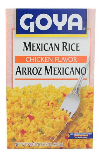 Goya Mexican Rice, Chicken Flavor, 8 Oz by Goya