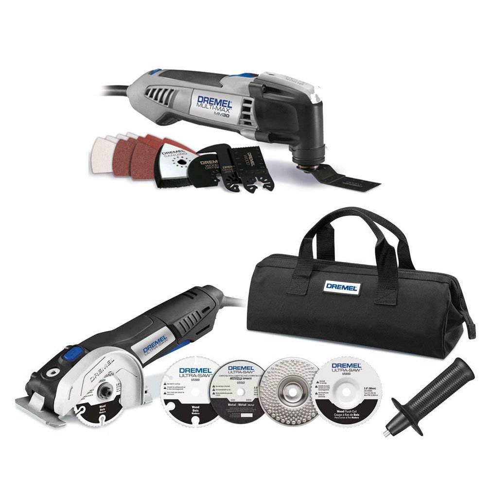 Dremel MM30 Oscillating Tool Kit and Circular Saw Kit (Certified Refurbished)