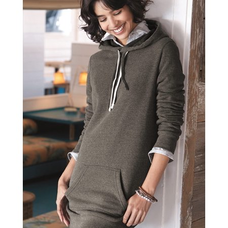 Independent Trading Co. Women's Special Blend Hooded Pullover - Hood Dress
