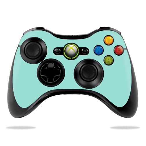 MightySkins Protective Vinyl Skin Decal for Microsoft Xbox 360 Controller Case wrap cover sticker skins Solid Seafoam