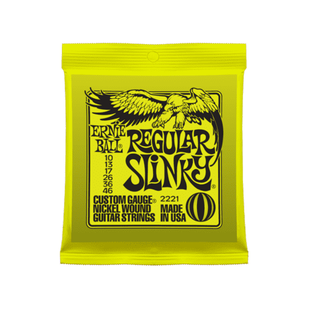 Ernie Ball Regular Slinky Electric Guitar Strings (Best Strings For Rickenbacker 12 String)