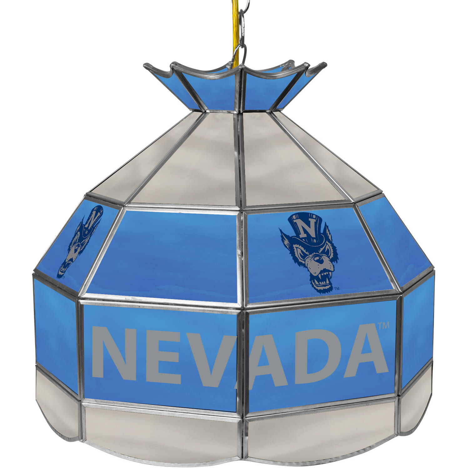 "University of Nevada 16"" Tiffany Style Lamp"