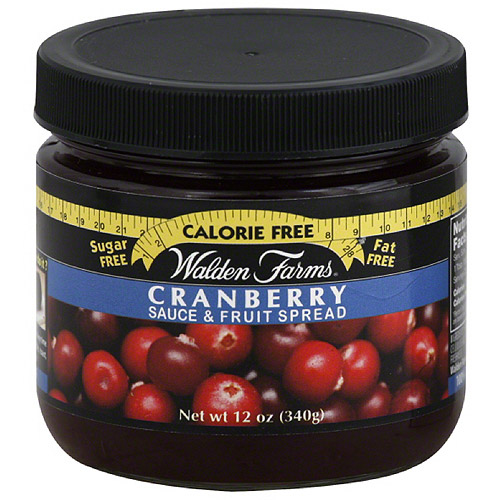 Walden Farms Cranberry Sauce & Fruit Spread, 12 oz, (Pack of 6)