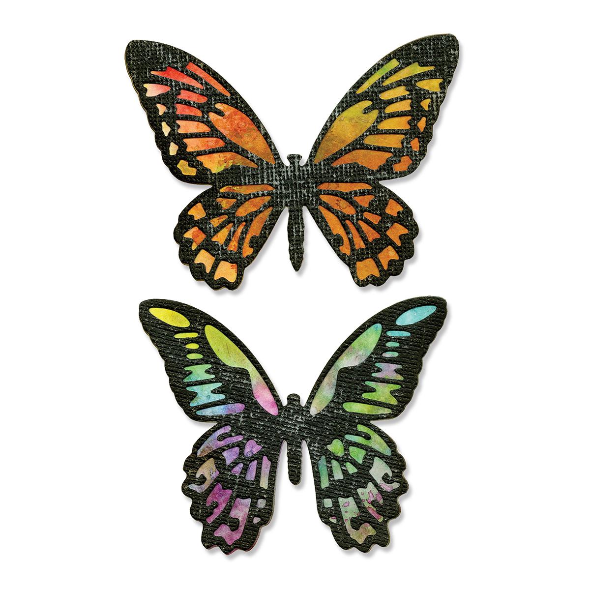 Sizzix Thinlits Dies - Detailed Butterflies by Tim Holtz