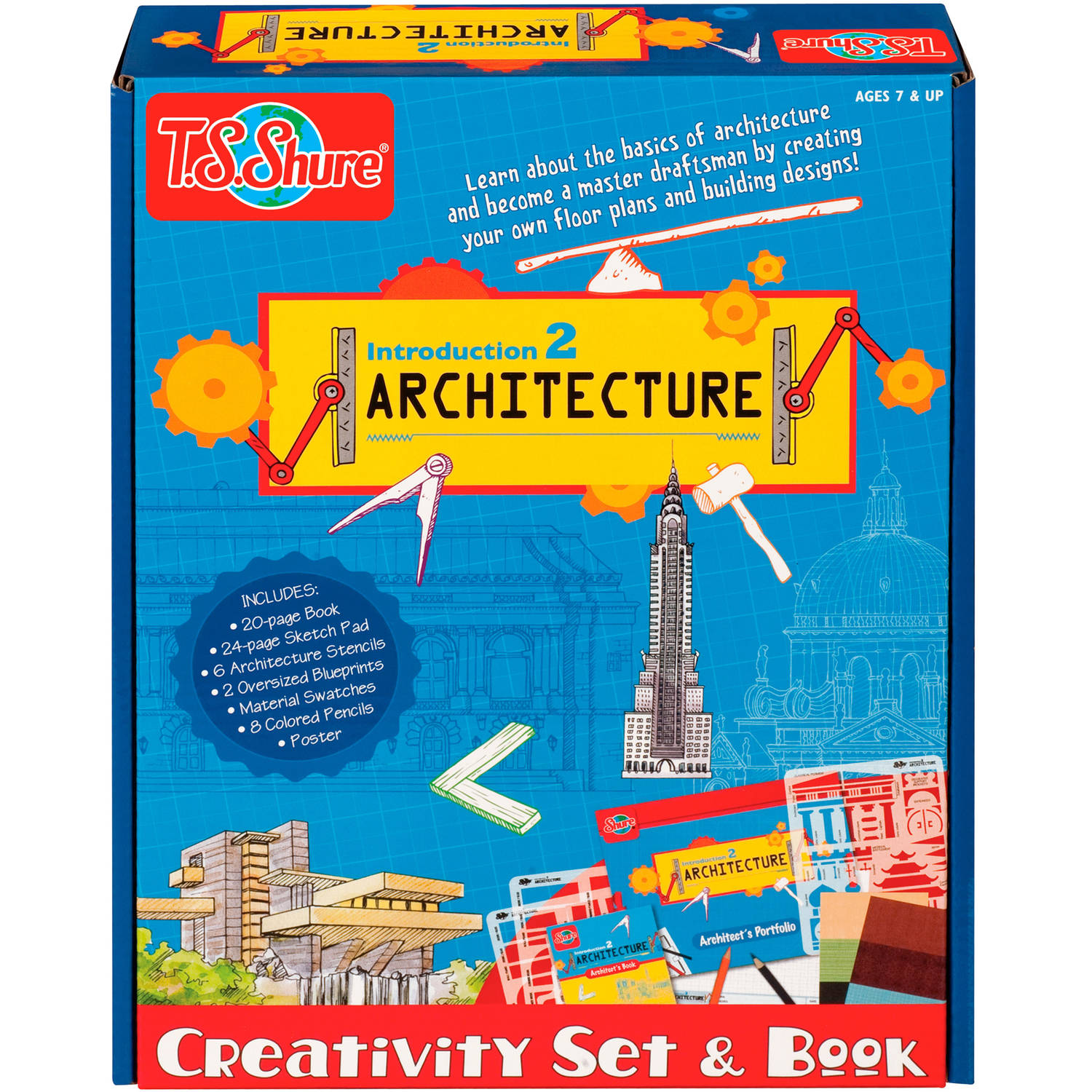 T.S. Shure Introduction to Architecture Set and Book