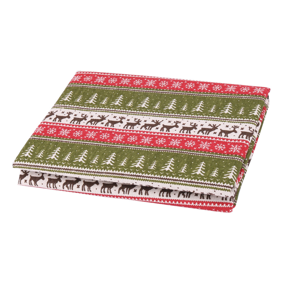 Unique BargainsLinen Fabric Deer Pattern Sofa Table Cover Handbag Making Art Craft DIY Cloth