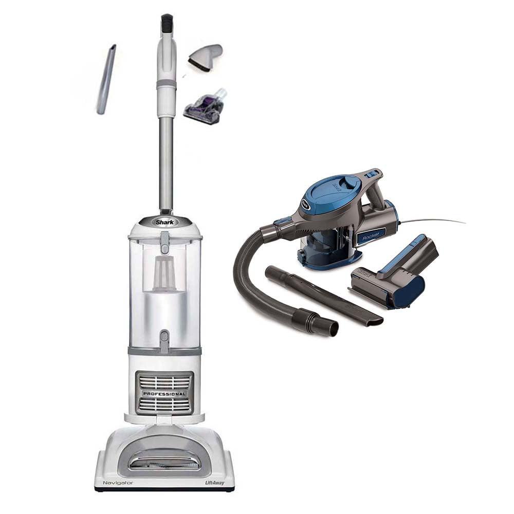 Shark Navigator Liftaway Pro Vacuum + Rocket Handheld (Ce...