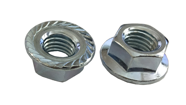 with Serrations Class 8 Zinc DIN 6923 10 M14-2.0 Hexagon Flange Nut