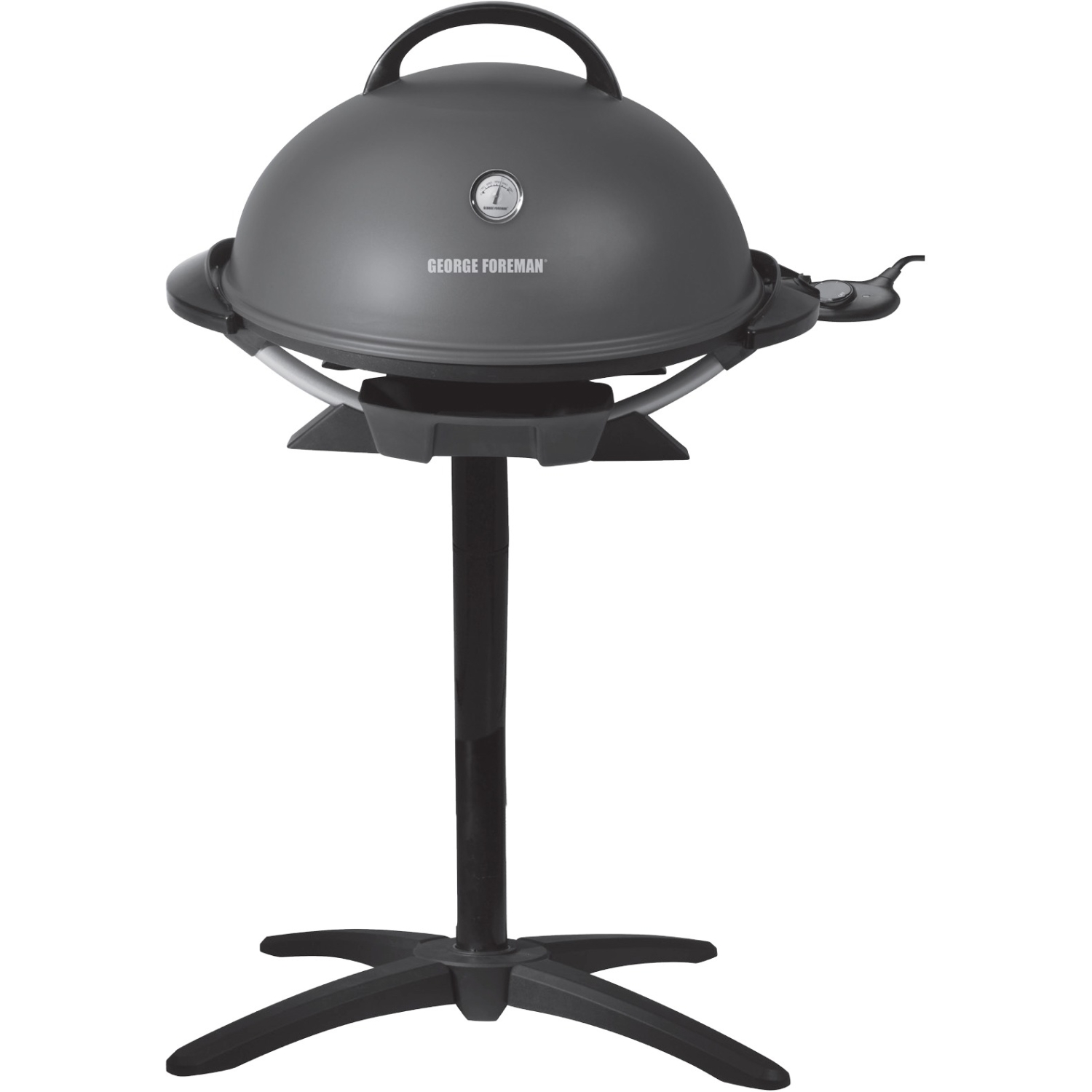 Marvelous George Foreman 15 Serving Indoor/outdoor Electric Grill   Gun Metal  (gfo3320gm)   Walmart.com